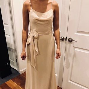 Long gorgeous bridesmaid/wedding guest dress